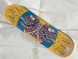 【FreeDome】 8.0×31.4 Bulldog Skateboard Deck スケートボード デッキ