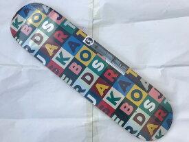 "【Jart】8.0"" x 31.44"" Scrabble HC Skateboard Deck スケートボード デッキ"