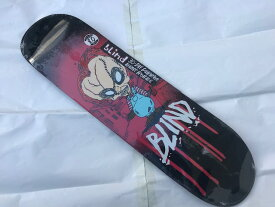 【blind】8.0 x 31.7 Nightmare Series BY FOS Micky Papa Skateboard Deck スケートボード デッキmellow concave