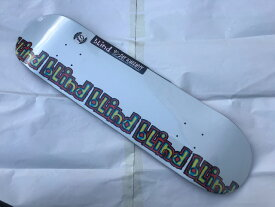 【blind】8.0 x 31.6 Rail - White Skateboard Deck スケートボード デッキFull concave