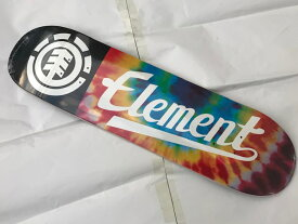 【ELEMENT】8.0×32.06 TYE DYE SCRIPT DECK スケートボード デッキ エレメント