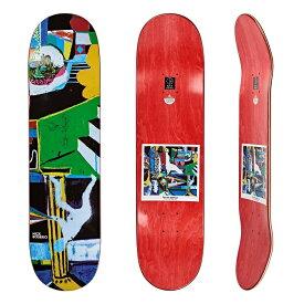 【POLAR SKATE CO】8.0 X 31.875 NICK BOSERIO - MEMORY PALACE Skateboard Deck ポーラー スケートボード デッキ 三本木 心