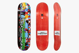 【POLAR SKATE CO】8.25 X 31.875 NICK BOSERIO - LIMO Skateboard Deck ポーラー スケートボード デッキ