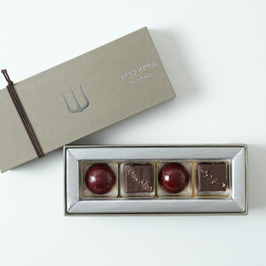 ボンボンショコラ・ラフィーユ4個入り プレスキル ショコラトリーチョコレート チョコ ボンボンショコラ ショコラ ご褒美スイーツ お取り寄せスイーツ おしゃれ 上品 豪華 人気 おすすめ