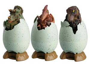 送料無料 eggバンク 恐竜の孵化 貯金箱 プテラノドン トリケラトプス ティラノサウルス おもしろ グッズ ギフト 誕生日 プレゼント きょうりゅう ふか 卵