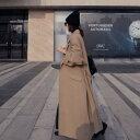 2019年新作 秋 冬 2color オーバー ガウン ロングコート ロング丈が新鮮なオーバーサイズコート デイリーに使いたいトレンドライクな一着