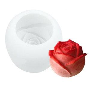 シリコンモールドバラの花(2.5寸)