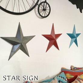 スターサイン 壁飾り ウォール インテリア 雑貨 壁掛け ウォールデコ ウォールデコレーション ウォール アート 装飾 オブジェ 壁 飾り ディスプレイ おしゃれ かわいい モダン 星 星型 スター ブルー レッド シルバー プレゼント 贈り物 西海岸 ART-77