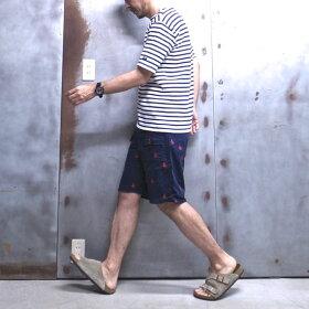 【GUNGHO/ガンホー】CORDUROYEXPEDITIONSHORT/コーデュロイエクスペディションショーツ刺繍入りショートパンツMADEINUSA#228