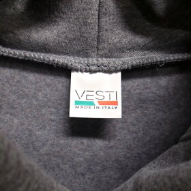 【VESTI/ヴェスティ】IT809TRIVOLIフルジップスウェットパーカーイタリア製