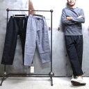 【 GRAMICCI / グラミチ 】# GUP-16F009 NEL LOOSE TAPERED PANTS / ネル ルーズ テーパード パンツ ワイドパンツ 9分丈パンツ グラミ…
