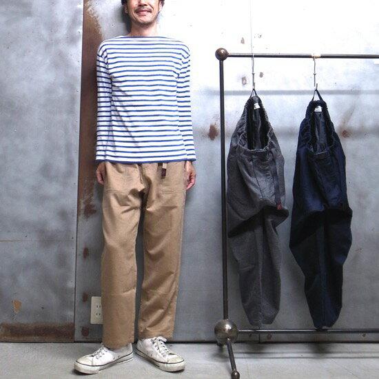 【 GRAMICCI / グラミチ 】# GUP-17F022 WOOL LOOSE TAPERED PANTS / ウール ルーズ テーパード パンツ ワイドパンツ 9分丈パンツ グラミチパンツ クライミングパンツ