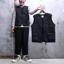 【 COLDBREAKER / コールドブレーカー 】 Body warmer / ボディー ウォーマー [ BLACK ] Wool Vest / ウール ベスト ポーランド製