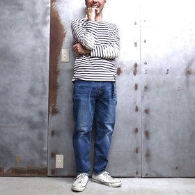 """【ROKX/ロックス】×【BIGJOHN/ビッグジョン】GYMFREE""""TITANICPANTS""""/ジムフリータイタニックパンツロックスパンツクライミングパンツジーンズデニムパンツMADEINJAPAN◆日本正規代理店商品"""