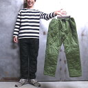 【 ROKX / ロックス 】 RXMF191082 QUILT WORK PANT insulated POLARTEC POWER FILL / キルト ワーク パンツ インシュレーテッド ポー…