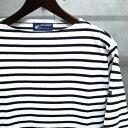【 SAINT JAMES / セントジェームス 】 OUESSANT BORDER / ウエッソン ボーダー ボーダーバスクシャツ 長袖ボーダーTシャツ ◆NEIGE×N…
