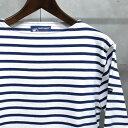 【 SAINT JAMES / セントジェームス 】 OUESSANT BORDER / ウエッソン ボーダー ボーダーバスクシャツ 長袖ボーダーTシャツ ◆NEIGE×M…