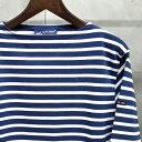 【 SAINT JAMES / セントジェームス 】 OUESSANT BORDER / ウエッソン ボーダー ボーダーバスクシャツ 長袖ボーダーTシャツ ◆M...