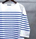 【 SAINT JAMES / セントジェームス 】01JC1239/1R NAVAL 3/4 sleeves / ナヴァル ナバル 【七分袖】 ボーダーバスク…