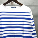 【 SAINT JAMES / セントジェームス 】14JC162MONOC/1R NAVAL MONOC / ナヴァル ナバル デュアルボーダー ボーダー バスクシャツ ボーダー Tシャツ NEIG
