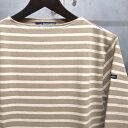 【 SAINT JAMES / セントジェームス 】 OUESSANT BORDER / ウエッソン ボーダー ボーダーバスクシャツ 長袖ボーダーTシャツ ◆SABLE×E…