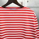 【 SAINT JAMES / セントジェームス 】 OUESSANT BORDER / ウエッソン ボーダー ボーダーバスクシャツ 長袖ボーダーTシャツ ◆ NEW CHE…