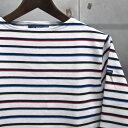 【 SAINT JAMES / セントジェームス 】 OUESSANT BORDER / ウエッソン・ボーダー ボーダーバスクシャツ 長袖ボーダーTシャツ ◆ NEIGE…