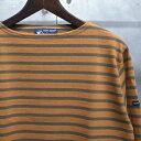 【 SAINT JAMES / セントジェームス 】 OUESSANT BORDER / ウエッソン ボーダー バスクシャツ 長袖ボーダーTシャツ ◆ SIENNE×LICHEN …