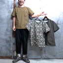 【 BURLAP OUTFITTER / バーラップ アウトフィッター 】 SUPPLEX POCKET TEE サプレックス ポケット Tシャツ 機能素材 撥水 速乾 UVカ…