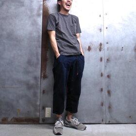 "【Goodwear/グッドウェア】[""PIGMENTDYE""/ピグメントダイ]S/SCREWNECKPOCKETTEECUSTOM/ポケットTカスタム/ポケットTシャツ◆MADEINU.S.A."