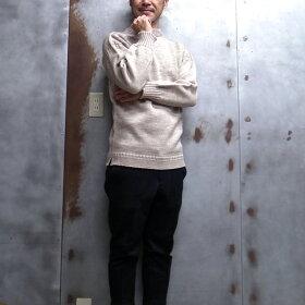 【GuernseyWOOLLENS/ガンジーウーレンズ】TradGuernseyOversizedPulloverガンジーセーターオーバーサイズガンジーニットマリンセーターフィッシャーマンズセーターMADEINGUERNSEYBRITISHISLES