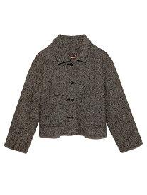 [Rakuten Fashion]ショート丈コート Lily Brown リリーブラウン コート/ジャケット コート/ジャケットその他 ブラック ホワイト ピンク【送料無料】