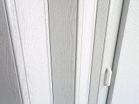 パネルドア/クレア/オーダーサイズ(1cm単位)/ドア/パネル/間仕切り/アコーディオン/パネルドア/窓あり/おしゃれ/シンプル/新生活/送料無料【RCP】