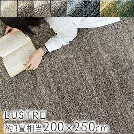 スミノエ LUSTRE リュストル ラグ 約200×250cm(約3畳相当)
