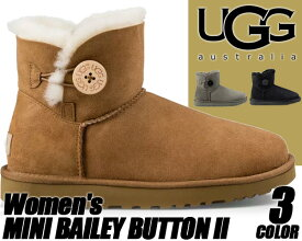 UGG WOMEN'S MINI BAILEY BUTTON II アグ ブーツ レディース UGG ムートンブーツ ミニ ベイリーボタン UGG アグブーツ レディース