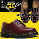 Dr.Martens 1461 3EYE GIBSON SHOES CHERRY RED ドクターマーチン 3ホール ギブソン シューズ チェリーレッド【R11838…
