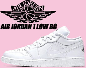 separation shoes 6fc89 04124 NIKE AIR JORDAN 1 LOW BG white black-white  ナイキ エアジョーダン 1