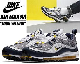 NIKE AIR MAX 98 white/tour yellow【ナイキ エアマックス 98 メンズ スニーカー エア マックス 98】