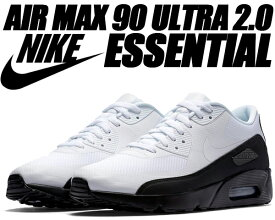 NIKE AIR MAX 90 ULTRA 2.0 ESSENTIAL black/white-dark grey【ナイキ エアマックス 90 ウルトラ スニーカー メンズ エア マックス 90 エッセンシャル】
