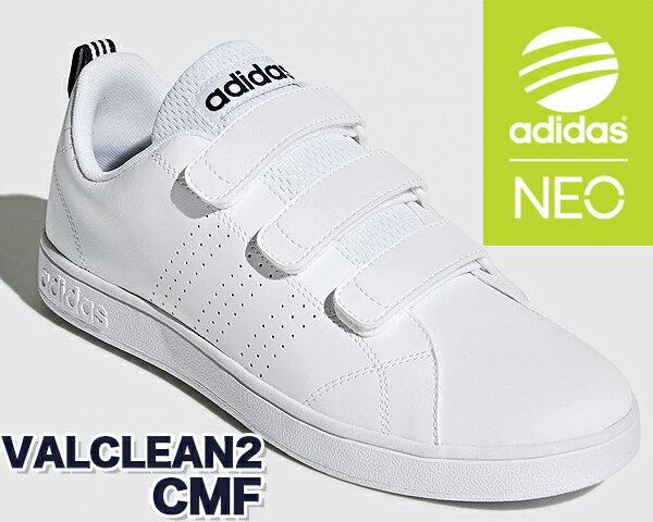 ADIDAS NEO VALCLEAN2 CMF ftwht/ftwht-conavy【アディダス ネオ スニーカー バルクリーン2 メンズ・レディースサイズ ユニセックス】