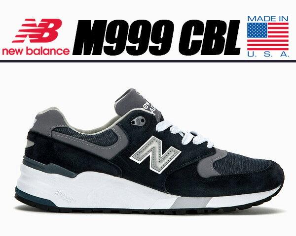 NEW BALANCE M999CBL made in U.S.A. 【ニューバランス スニーカー 999 メンズ スニーカー M999 US MADE NAVY ネイビー】