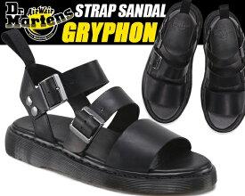 Dr.Martens GRYPHON STRAP SANDAL blk 15695001 ドクターマーチン サンダル グラディエーター サンダル ストラップ レディース ウィメンズ