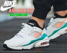 "NIKE AIR MAX 93 ""Watermelon"" white/crimson bliss 【ナイキ エアマックス 93 スニーカー メンズ エア マックス 93 Watermelon】"