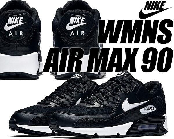 NIKE WMNS AIR MAX 90 black/white 【ナイキ エアマックス 90 ウィメンズ レディース メンズ スニーカー エア マックス 90 ブラック ホワイト】