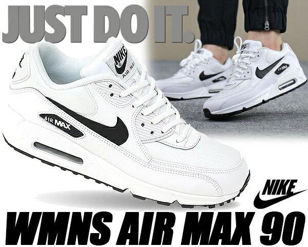 NIKE WMNS AIR MAX 90 white/black 【ナイキ ウィメンズ エアマックス 90 レディース スニーカー ホワイト AIRMAX 90 ナヨン TWICE ランニングシューズ】