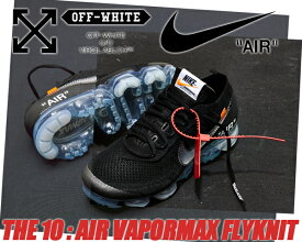 THE10 : NIKE AIR VAPORMAX FK black/clear-total orange AA3831-002 ナイキ×ヴァージル・アブロー エアヴェイパーマックス OFF-WHITE FLYKNIT フライニット THE 10 スニーカー