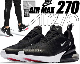 NIKE AIR MAX 270 black/anthracite-white 【ナイキ エアマックス 270 スニーカー メンズ マックス 270 AIRMAX ランニングシューズ ブラック ホワイト】