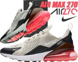 NIKE AIR MAX 270 black/light bone-hot punch 【ナイキ エアマックス 270 スニーカー メンズ エア マックス 270 AIR ランニングシューズ】