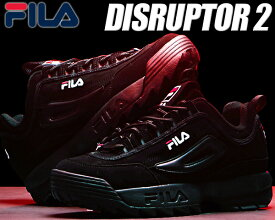 FILA DISRUPTOR 2 black 【フィラ ディスラプター 2 DAD SHOE ダッド シューズ chunky チャンキー 厚底 スニーカー メンズ レディース ウィメンズ ブラック 黒 FS1HTA1078X BBK ガールズ】