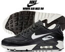 NIKE WMNS AIR MAX 90 black/summit white-black-black ナイキ ウィメンズ エアマック...